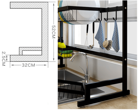 Kitchen Rack in Lahore
